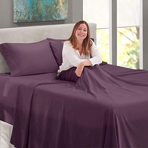 hotel life sheets purple - 2
