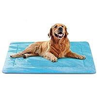 ペットマット 犬 ペットベッド 犬用クッション 犬ケージ用敷物 体を伸ばせる 防寒保温 滑り止め 洗える 肌触りよい 柔らかいポーラーフリース 眠りクッション 寝心地がよい 大型犬 小型犬 噛み防止 四季通用