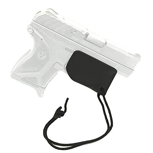 Trigger Sheath Trigger Guard Holster Black with Paracord (Ruger LCP 2)