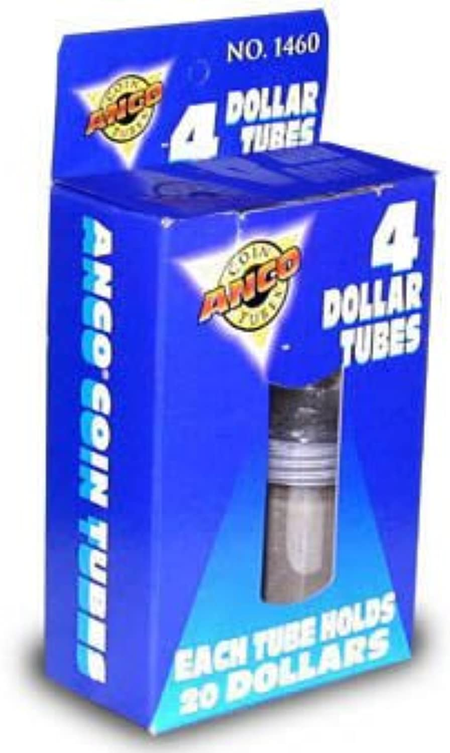 Whitman Coins Coin Tubes, Dollar Boxed (4)