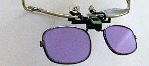 Devardi Glass Didymium Clip-On Flip-up Safety Glasses for Lampwork, Beadmaking PT-3