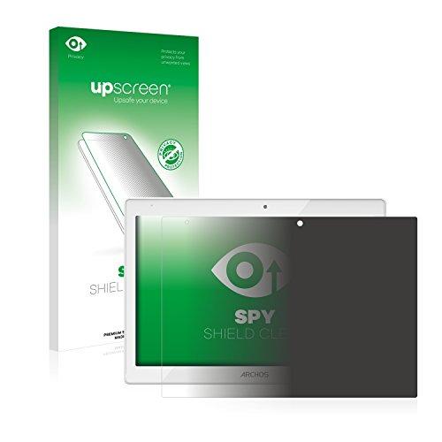 upscreen Anti-Spy Blickschutzfolie kompatibel mit Archos 101b Platinum Privacy Screen Sichtschutz Displayschutz-Folie