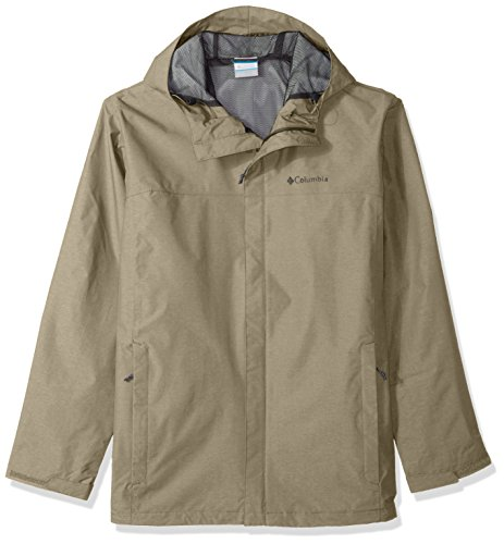 Columbia Herren Big and Tall Diablo Creek Rain Shell Regenjacke, graugrün, 2X Hoch