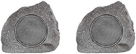 Homewell Outdoor Rock Speaker Premium Solar Powered Wireless Bluetooth 5 0 Speaker for Patio product image