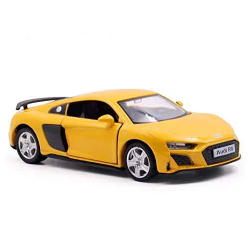 DXZJ 1:36 Simulación para Audi R8 Coche Deportivo Aleación Modelo De Coche Niños Juguete Coche Simulación Niño Coche Modelo Colección Adornos (Color : 3)