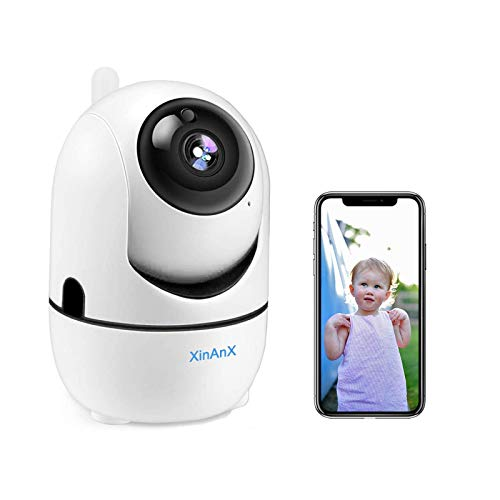 Wireless IP Camera 1080P HD WiFi Security Camera Indoor Pan/Tilt/Zoom Home Security Surveillance Camera System