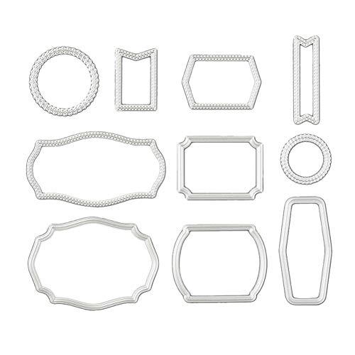 akaddy Transparent Clear Silicone Stempel/Siegel, DIY Flower Series Schneidwerkzeug Card Pocket Decoration Kits (01 Schneidwerkzeug)