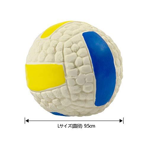 Alincoo犬用投げるボール噛むおもちゃ3点入れ大型犬用Lサイズ