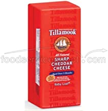 product image for Tillamook Sharp Cheddar Cheese, 1 Pound -- 12 per case.