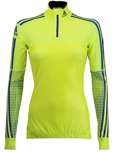 adidas Damen Langarm X-Country Top Warm Shirt Langlauf Wintersport Laufshirt (38)