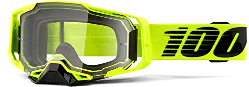 100% ARMEGA Goggle Gafas de Sol Accesorios Deportivos, Adulto Unisex, Verde (Nuclear Circus), Talla Única