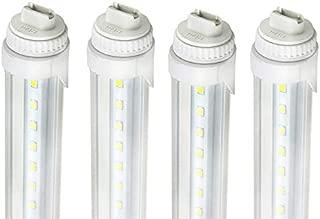 4 Pack of R17D 5FT 24W F60T12 LED Tube Lamp Light Vending Cooler Freezer Fluorescen Replace (R17D 5FT 4Pack)