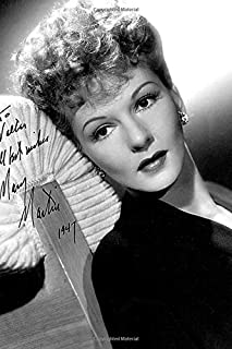 Mary Martin Notebook, Journal, Diary - Classic Writing 120 Lined Pages #2: Famous People Person Legends Actors Actress Sin...