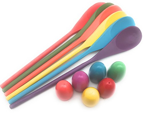 Egg and Spoon Race Game Set