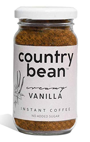 Country Bean Instant Coffee Powder | Vanilla Flavoured Coffee 60 G ( 30 Cups)