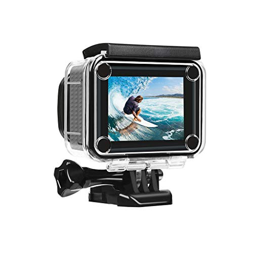 Read About Basde Action Camera, Shooting XTGP436 4K WiFi Action Camera 2.4G Remote Control 1080P 14M...