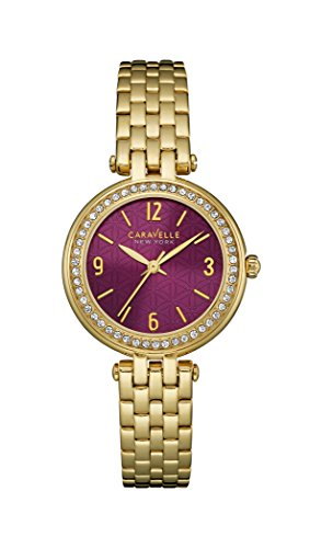 Caravelle Ny Ladies Crystal 44L174 - Orologio da Polso Donna