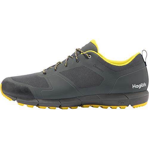 Haglöfs Herren L.i.m Low Proof Eco Walking-Schuh, 4hc-Magnetit/Signalgelb, 43 1/3 EU