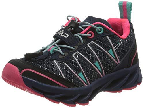 CMP – F.lli Campagnolo Unisex-Kinder Kids Altak Trail Shoe 2.0 Traillaufschuhe, Mehrfarbig (Navy-PINK Fluo-A.Marina 98BD), 39 EU