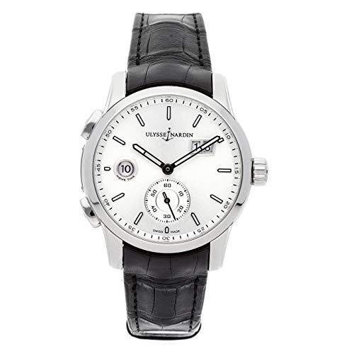 Ulysse Nardin Dual Time Fabbricazione Steel Watch 3343–126/91