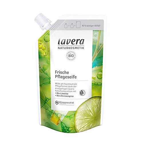 Frische Pflegeseife - Limette & Zitronengras Nachfüllbeutel 500ml | Lavera Naturkosmetik