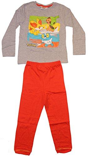Unbekannt - Pijama Dos Piezas - para niño Gris 116 cm
