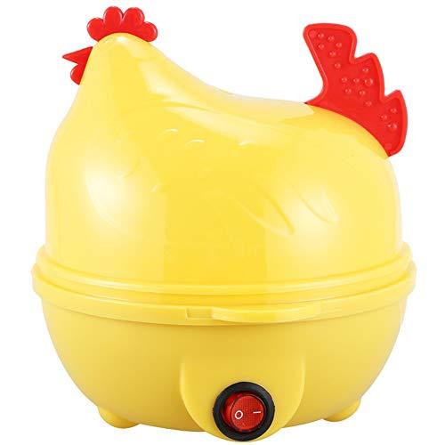 Hervorragende Qualität Multifunktionale Haushalt-Elektrischer Mini Nette Eier Kocher Cooker Steamer Für Bis Zu 7 Eiern Home Küche,Gelb