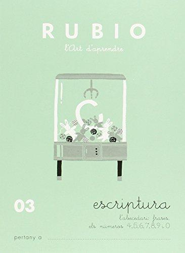 Rubio. Escritura 03 - 9788489773431 (Escriptura RUBIO (català))