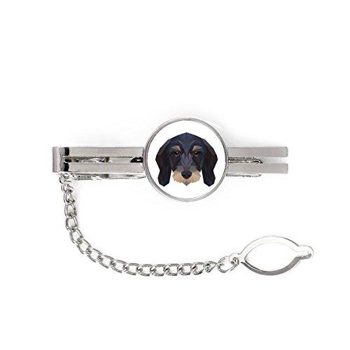 ArtDog Ltd. Dackel, Krawatte, Clip mit Einem Bild von Einem Hund, geometrisch
