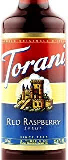 Torani Syrup, Red Raspberry, 25.4 Ounce (Pack of 1)