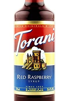 Torani Syrup Red Raspberry 25.4 Ounce  Pack of 1