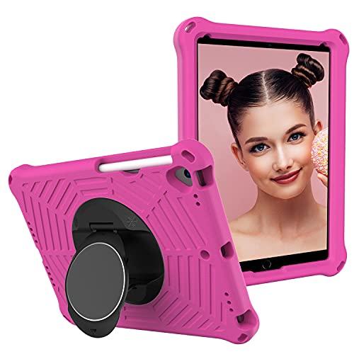 Funda para iPad 10.2 2019 Niños Tablet Case - EVA Ligero a prueba de golpes Gotas Mango Cubierta protectora para iPad 10.2 2020 con correa para el hombro