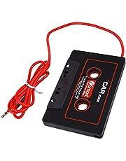 Mingtongli Adaptador del Cassette del Coche de 3,5 mm AUX Conector Macho del Cassette del Coche o el Adaptador de Cassette de Cinta Tape Converter para CD MP3 Player