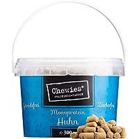 Chewies – Escudo de Entrenamiento – Monoproteína Snack para Perros – sin Cereales y sin azúcar – Leckerlies Suaves para el Entrenamiento de Perros – hipoalergénico
