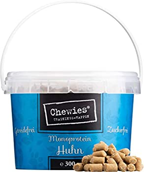 Chewies - Snack de Dressage pour Chien - sans céréales et sans Sucre - Friandises moelleuses pour l'entraînement du Chien - Hypoallergénique