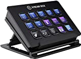 Elgato Stream Deck - Live Content Creation Controller with 15 Customizable LCD Keys, Adjustable Stand for Windows 10 and MacOS 10.13 or Later , Black
