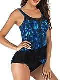 BIKINX Tankini Swimsuits for Women, Plus Size Swimwear, Tummy...