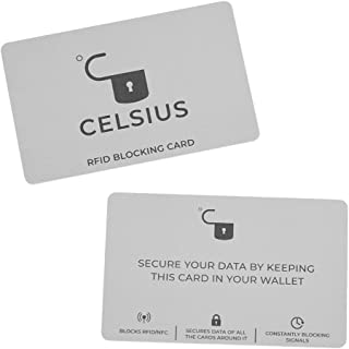 Celsius RFID/NFC Blocking Card Protector - 2 Pack