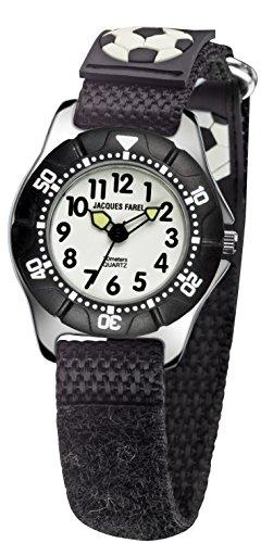Jacques Farel KWD5557 - Armbanduhr, Textilband Mehrfarbig
