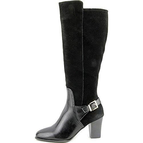 Alfani Careeni Wide Calf Women US 8 Black Knee High Boot