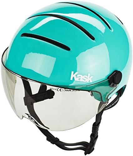 Kask Helm Lifestyle Umfang 59-62 cm Mit Visier, hellblau, M