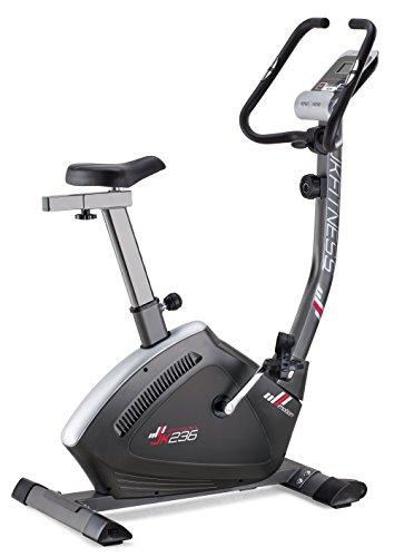 JK Fitness Professional, Cyclette magnetica, unisex, per adulti, colore grigio, taglia unica