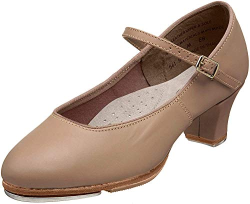 Capezio womens Jr. Footlight Tap Shoe, Caramel, 10 M US