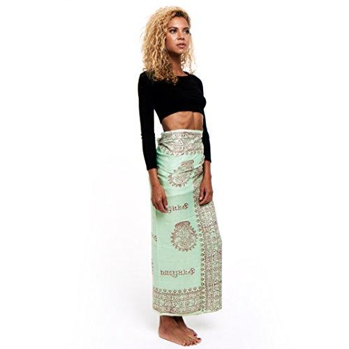 Limber Stretch Indische Yoga Mantra Schals Tücher Liebevoll Handgefertigt in Indien
