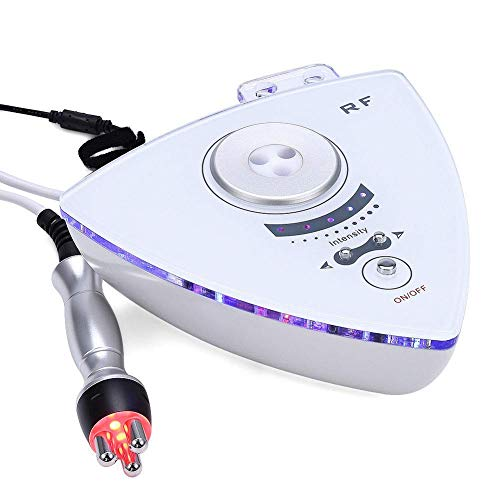 MaquiGra Medidor de Radiofrecuencia Tripolar para Facial Instrumento de Belleza RF para Cara Onda Eléctrica para Rejuvencimiento de la Piel Remoción de Arrugas Apretamiento de la Piel (Renovado)