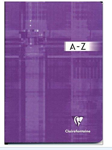 Clairefontaine Schulheft Registerbuch A5 CF geheft lin 48 Bl liniert alphabetisches Registe 3688Cr