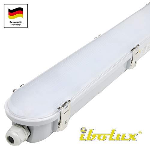 45W LED Feuchtraumleuchte Wannenleuchte 120cm als Garagenleuchte Kellerleuchte Büroleuchte Werkstattleuchte