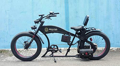 Cicli Ferrareis Cruiser Chopper Fat Bike 24 Nero Personalizzabile Custom Bike