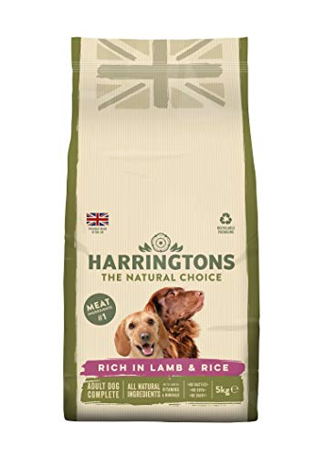 Harringtons Lamb and Rice 15 kg, (pack of 3 x 5 kg)