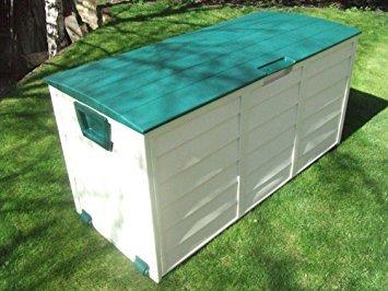 groundlevel.co.uk Incroyable boîte de Rangement de Jardin résistante aux intempéries – Gris XL